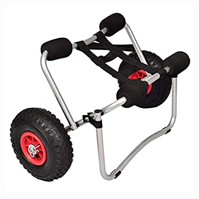 HomyDelight Boat Trailer, Kayak Cart Aluminum