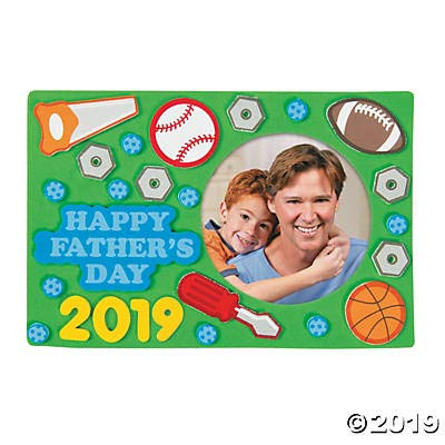 Father's Day Picture Frame Magnet (Makes 12) Father's Day Craft Kits