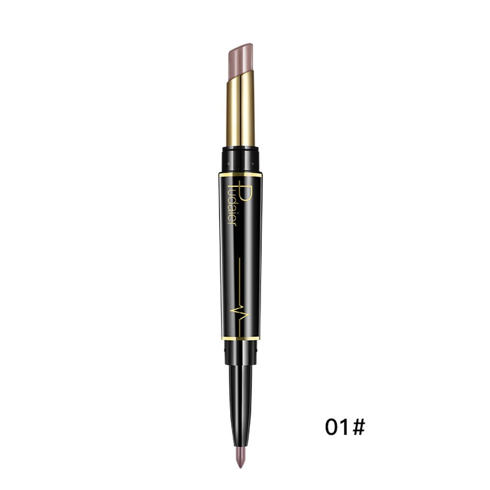 Sumcreat Double-end Lasting Lipstick Lipliner, Waterproof Lip Liner Stick Pencil Sumcreat Lipstick