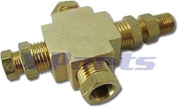 Adaptador distribuidor para instrumentación de presión y ...