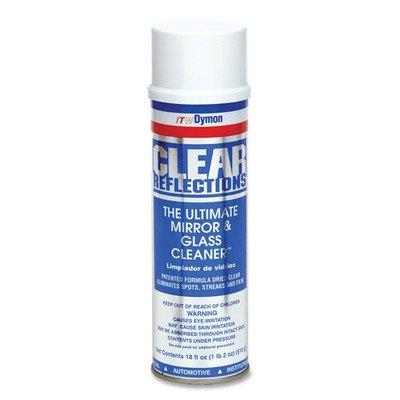 Aerosol Glass Cleaner, 20 oz, Residue-free [Set of 2]