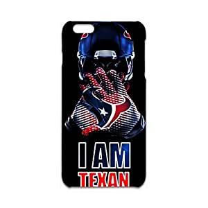 3D iPhone 6 Plus(5.5 inch) Case,Nupro Lightweight Absorbing and Scratch Resistant Cover I Am Texan Cover