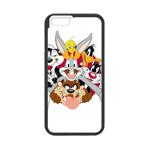 Sylvester The Cat coque iPhone 6 4.7 Inch cellulaire cas coque de téléphone cas téléphone cellulaire noir couvercle EEECBCAAN08688