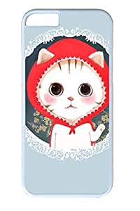 Cat Wearing A Red Hat Slim Soft For SamSung Galaxy S4 Mini Case Cover Case PC White Cases