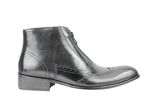 Xposed - botas Brogue hombre negro
