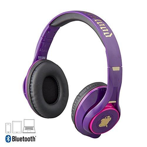 Descendants 2 Bluetooth Wireless Headphones with Microphone Voice Activation and Bonus Aux Cable