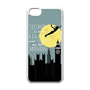 Peter Pan iPhone 5c Cell Phone Case White xlb-117836