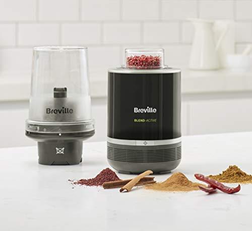 Breville Blend Active Pro Food Prep Personal Blender with Mini Food Processor and Spice Grinder VBL212
