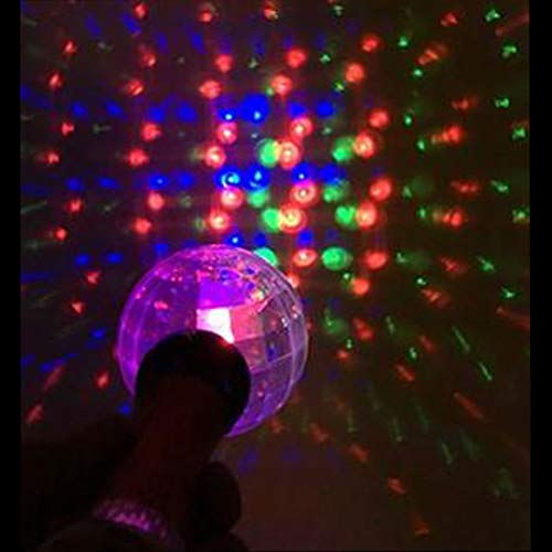 GlowCity LED Light-Up Wand for Kids - Meteor Storm Flashing Wand Changes Patterns and Colors - Ideal Sensory Toy for Special Needs Children (Single)