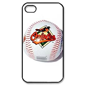 MLB&iPhone 4,4S Black Baltimore Orioles Gift Holiday Christmas Gifts cell phone cases clear phone cases protectivefashion cell phone cases HABC605583930
