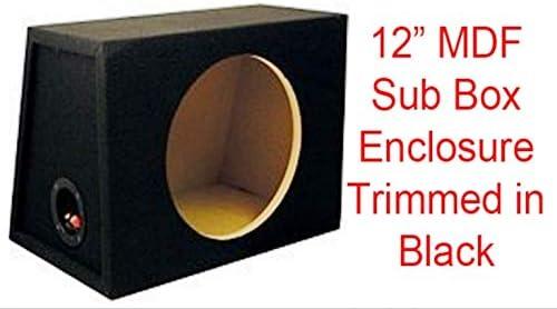 Caja sellada de 12 pulgadas para todo tipo de SUB: Amazon.es: Electrónica