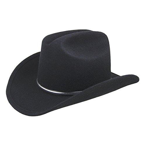 Eddy Bros. Men Rowdy Western Hat Black XL