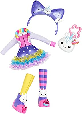 "KUU KUU HARAJUKU Rainbow Unicorn Fashion Pack By Mattel for 10/"" Doll New"