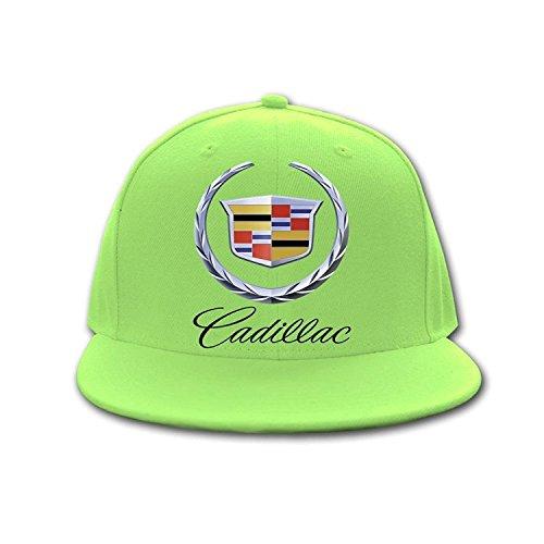 Woman Men Cotton Cadillac Car Logo Adjustable Hit Hop caps Sky blue