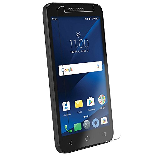Alcatel idealxcit Screen Protector,(3 Packs) Anti-glare Ultra-thin clear 9H  Hardness Tempered Glass Protective Film For Alcatel Cameox Cameo x Ideal
