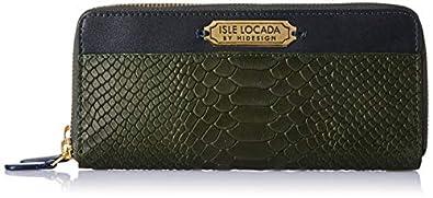 Isle Locada By Hidesign Women's Wallet (Green)