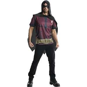 Arkham Robin Mens Tee Shirt Halloween Costume ( Size : L )