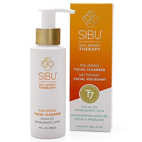 SIBU Polishing Facial Cleanser, Makeup Remover 4oz