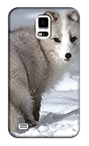Wolf Hard Back Shell Case / Cover for Samsung Galaxy S5