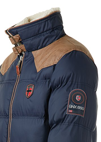 Giacca Uomo Blu Navy Norway Geographical B5xqHYF