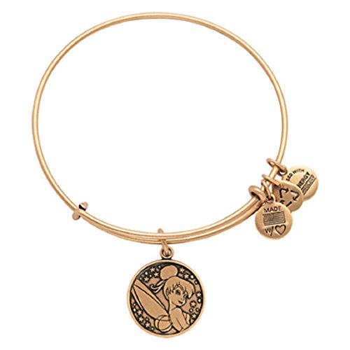 Disney - Tinker Bell Bangle By Alex and Ani - Gold - NEW