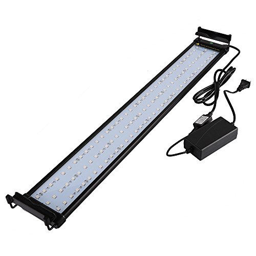 NICREW Aquarium RGB LED Strip Light With Color Changing Remote (36 Strip Fixture)