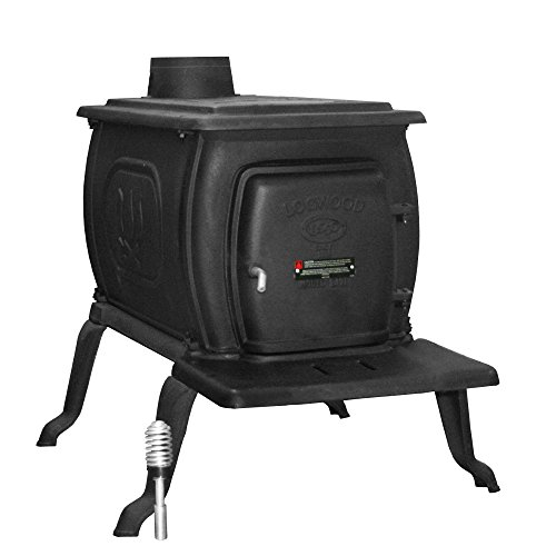 - US Stove 2469E Epa Certified Cast Iron Logwood Stove, 94,000 Btus, Large