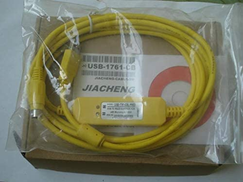 Cable Length: USB-1761-CBL-PM02, Color: Red ShineBear USB-1761-CBL-PM02 USB 1761-CBL-PM02 Used for Micrologix1000 PLC Program Cable