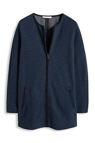 ESPRIT Mit Struktur - Abrigo Mujer Azul (Navy 400)