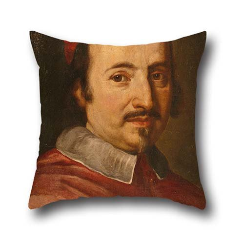 The Oil Painting Jakob-Ferdinand Voet - Portrait Of Cardinal Federico Ubaldo Baldeschi Colonna (1624-1691) Cushion Covers Of ,18 X 18 Inch / 45 By 45 Cm Decoration,gift For Christmas,husband,son,car - Cardinals Lounger
