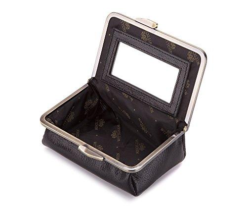 Wittchen Kosmetiktasche | Farbe: Schwarz | Narbenleder | Höhe (cm): 8,5 x Breite (cm): 14 | Kollektion: Italy | 21-3-170-1