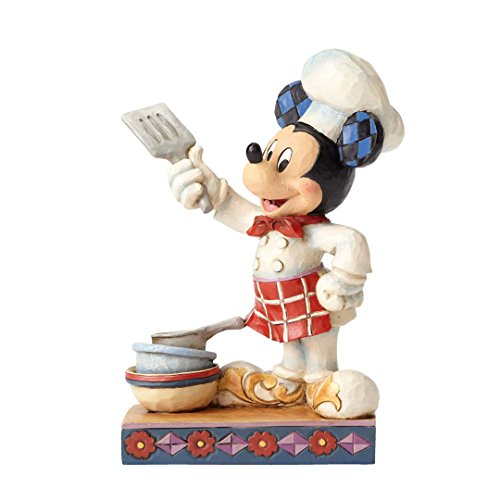 Jim Shore Disney Traditions by Enesco Chef Mickey Figurine
