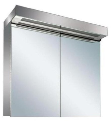 new led illuminated bathroom mirror cabinet with on off sensor