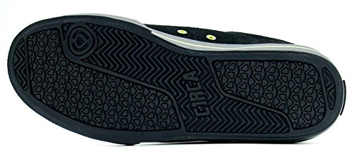 C1RCA , Herren Sneaker BLACK/LIME/ZEBRA