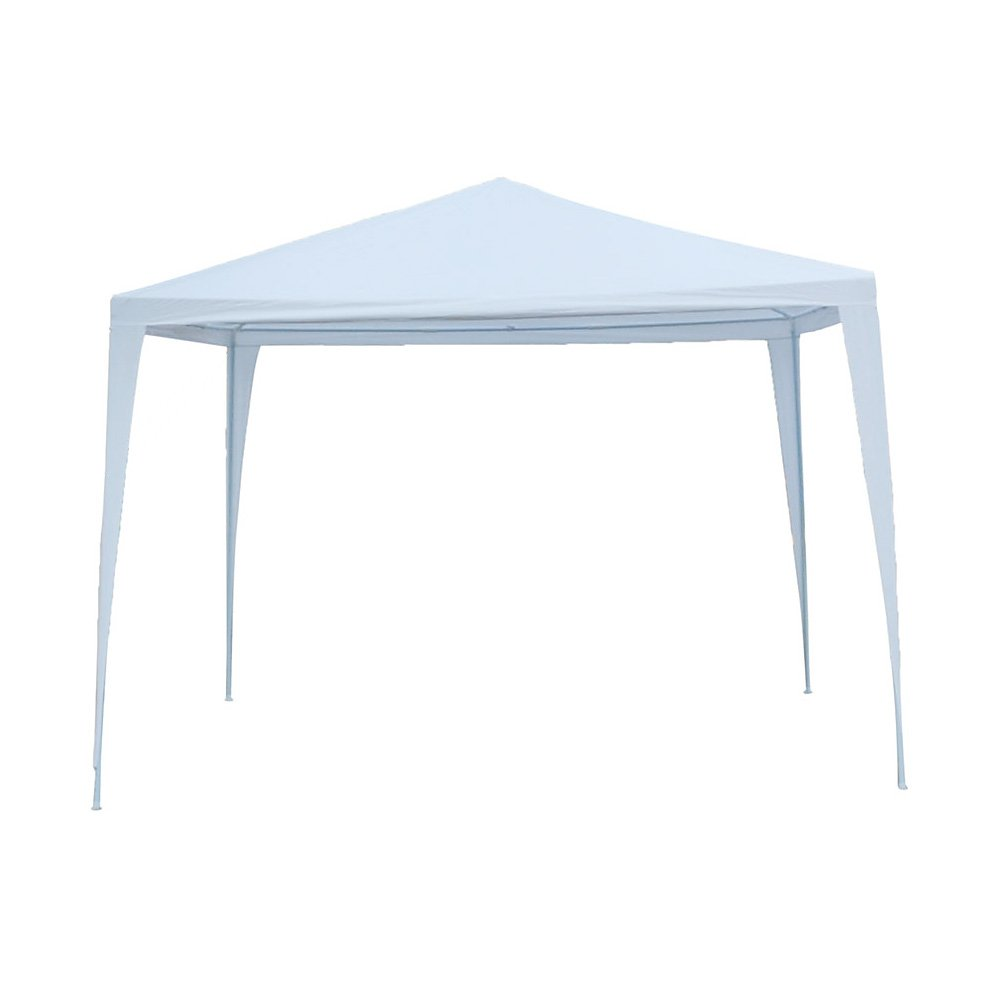 Tenozek 10' X 10' Canopy Tent, Portable Lightweight Gazebo Weddin Party Tent for BBQ Fishing Beach Garden Outdoor White (10′ x 10′ Gazebo)