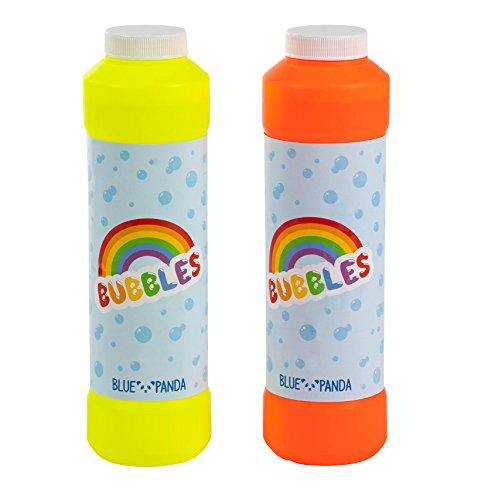 Bubble Solution - 2-Pack Bubble Refill Bottle, Non-Toxic Soap Solution Bubble Mix Bubble Makers, 32-Ounce