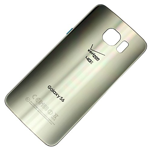 - RBC Battery Back Door Glass Housing Cover for Samsung Galaxy S6 Verizon G920V Gold