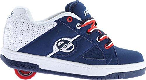 Heelys Boy's Split (Little Kid/Big Kid/Adult) Navy/White/Red Sneaker Men's 7 M