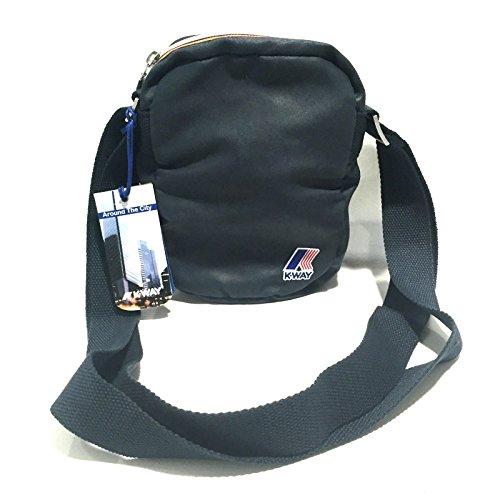 Estuche Para Hombre Mujer Bolsa Bandolera K-Way Bag Men Woman K.Fold Small K1521 Ammo turquesa