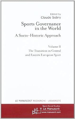 Sports Governance in the World II pdf epub