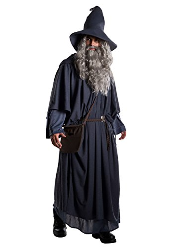 Gandalf The Grey Halloween Costume (Adult Premium Gandalf Costume Large Black,)