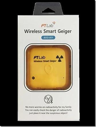 Bluetooth SMART GEIGER BSG-001 Medidor de Radiación para el Smartphone iOS Andriod contador Geiger Medir Radiaciones Contador Detector de Radiación Geiger ...