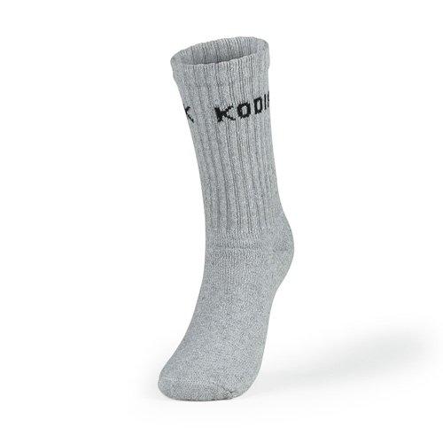 Kodiak - Women's Crew Socks 2 Pack - Style 628/2 - Gray