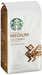 Starbucks Colombia Ground Coffee Ground, 12 Ounce (Pack of 3)