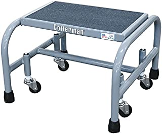 product image for Mobile Step Stand, 12 in H, 450 lb, Steel