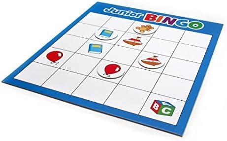 Tactic Junior Bingo Niños y Adultos Juego de Azar - Juego de Tablero (Juego de Azar, Niños y Adultos, 15 min, Niño/niña, 4 año(s), 10 año(s)): Tactic: Amazon.es: Juguetes y juegos