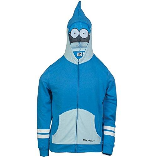Regular Show - Mordaci Eyes Costume Zip Hoodie - Large