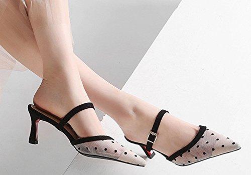 On Women's Pointy Mule Slip Toe Web Aisun 1 Graceful Sandals White YZwqya1