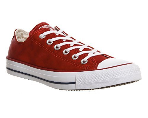 Converse Chuck Taylor All Star, Sneakers Basses Mixte Adulte - Rouge - Casino Red Sheenwash,