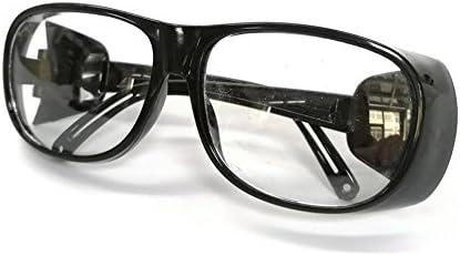 Gafas de Soldadura Delantera Prom-Near Soldadura eléctrica Gafas a Prueba de Polvo Mano de Obra Gafas Protectoras Uso para Soldadura, Soldadura, soplete, ...